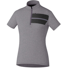 Shimano Transit Pavement Bike Jersey Shortsleeve Women grey